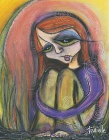 "36"" x 24"" pastels © Tanielle Childers"