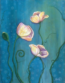 """11""""x14"""" acrylic on panel by Tanielle Childers ©"""
